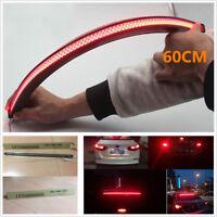 60CM Red Led Strip Car Inner Rear Window Tail Trunk light Brake Signal LED Light