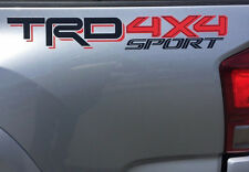 TOYOTA TRD 4x4 SPORT Decals Vinyl Stickers 1 PAIR truck bed New 2016 Tacoma