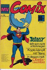 MV COMIX 1969 Nr. 26 (2) guter ZUSTAND Mickyvision mit Batman Superman Asterix