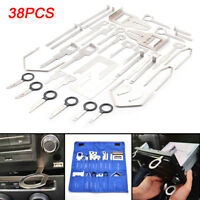 38 Pcs Car Stereo Release Removal Keys Set Vehicle CD Radio Head Unit Tools