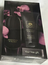 CLINIQUE EXCLUSIVE ARAMATICS IN BLACK GIFT SET PERFUME & BODY LOTION