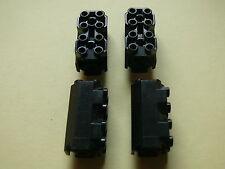 Lego 4 colonnes noires set 6175 2162 6190 6135/ brick octogonal w/ side studs