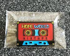 J Hope World Enamel Pin