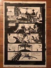 Dan Jurgens Bill Sienkiewicz Superman Day of Doom 3 pg 4 Comic Art