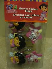 Dora & Boots ~ Set of 12 ~ Shower Curtain Hooks ~ New