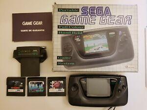 Console SEGA Game Gear originale + 3 giochi + TV Tuner