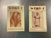 2 Issues of Wings Magazine, 1930, 1931 Literary Guild of America, New York