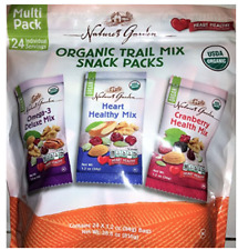 Nature's Garden Organic Trail Mix Snack Packs, Multi-Pack 1.2 oz 24ct 28.8oz