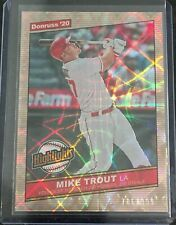 2020 Donruss Mike Trout Highlights #/999 SP Parallel-H-10. 🔥⚾️