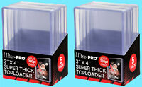 10 Ultra Pro 3x4 360PT SUPER THICK TOPLOADERS Trading Sports Card Rigid Holder