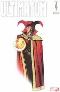 Ultimatum (2009) #4 of 5 VF/NM Ed McGuinness Color Variant Cover Dr Strange