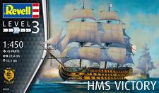 Revell 1/450 Model Kit 05819 Admiral Nelson's Flagship HMS Victory