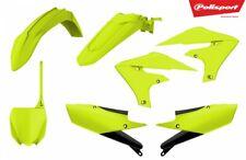 Polisport FLO YELLOW Plastic Kit - Suzuki RMZ250 2019 RMZ450 2018-19_ 90783