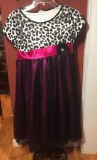 Bonnie Jean Fiels Sz. 16 Tulle Overlay Special Ocassion Dress