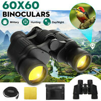 Day/Night HD Hunting Binoculars 60x60 5-3000M Waterproof Telescopes Coordinates