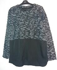new ladies jumper with shirt hem by Next size 12