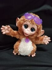 """FurReal Friends Baby Cuddles Giggly Monkey Chimp Hasbro Animated 8"""""""