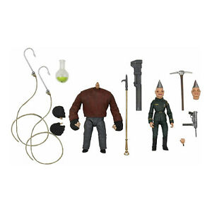 Puppet Master Ultimate Pinhead & Tunneler 7 inch Scale Action Figure 2 Pack NECA