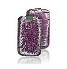 Funda Funda Estuche Croco IPHONE 3G 3GS 4 4S Púrpura