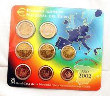 España-Juan carlos I. Estuche oficial del Euro 2002. UNC/SC/FDC.