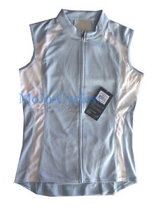 Cannondale Women's Classic Sleeveless Jersey Blue / White New