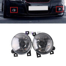 Pair OEM Front Left Right Halogen Fog Light Lamp For VW Golf Bora Jetta MK5 GTI