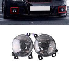 Pair Front Left Right Halogen Fog Light Lamp For VW Golf Bora Jetta MK5 GTI