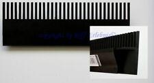 PVC Überlaufkamm GroTech 250mm lang zum Aufstecken