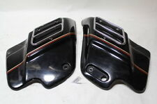 Harley FL side covers + chrome guards 1993 FLHT FLH Road King Glide EPS19919