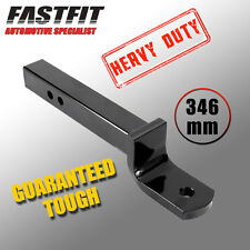 FastFit Heavy Duty 346mm Tow Ball Mount 75mm x 19mm Tongue/ Hitch Tongue