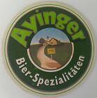 alter Bierdeckel AYINGER Bier Spezialitäten 🍺 A-50-4