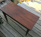 Walnut Lift Seat Piano Bench