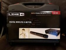 Line 6 XD-V30 Digital Wireless Handheld Microphone System with protective case.