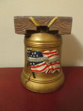 Libery Bell Planter Flower Pot by Nancy Pew 4th of July Patriotic Americana