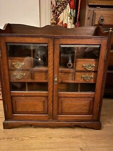 Edwardian Smokers cabinet/ Jewellery Box