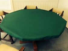 Poker Felt Table cloth - Green - elastic edge - bridge, majhong, dice game - MTO