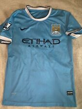 Sergio Kun Aguero Manchester City Football Jersey Nike Men's Large