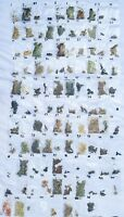 Rare Magical 108 Herbs Set Named ~Spells Pagan Wicca Ritual Altar Witchcraft kit