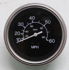 # 80514 Teleflex Heavy Duty Series 10-60 MPH Speedometer Black Gauge FREE SHIP!