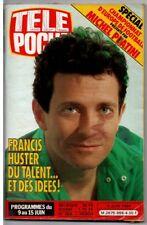 ▬►Télé Poche 956 (1984) FRANCIS HUSTER_MICHAËL JACKSON_CHAMPIONNAT EUROPE FOOT