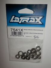 LaTrax Bearings 4x8mm (2) 6x10mm (8), 8x12m (5) #7541X NIP