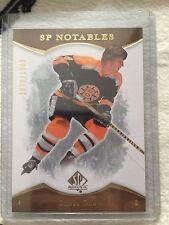 07-08 UD SP Authentic SP Notables Bobby Orr #154 Boston Bruins 1079/1999