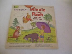 Winnie The Pooh and The Honey Tree-1965-LP Record & Book-Vintage