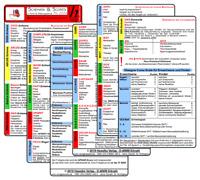 """Schemata & Scores """"PRO"""" in Klinik & Rettungsdienst (3 Karten Set)"""
