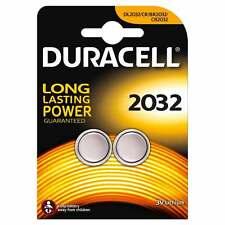 2 x Duracell Batterie CR2032 Lithium 3V Knopfbatterie CR 2032 1 x 2er Blister