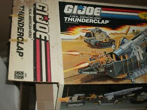 1989 Hasbro GI Joe THUNDERCLAP BOX