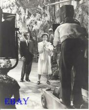 Montgomery Clift Katharine Hepburn production shot Photo From Original Negative