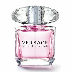 BRIGHT CRYSTAL   90ml EDT Spray   Perfume For  Women  By VERSACE ( Tester )