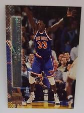 1996-97 TOPPS STADIUM CLUB SHINING MOMENTS PATRICK EWING SM6 NY KNICKS CARD