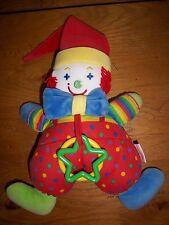 Doudou Corolle Clown d'Activités TTBE 2001